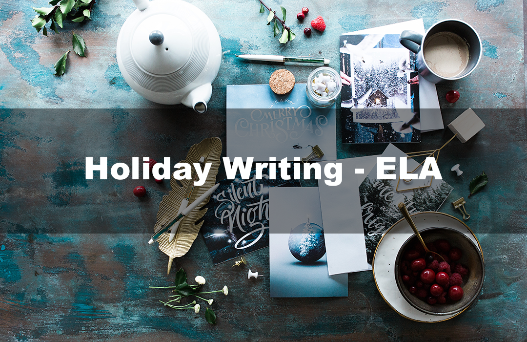 Holiday Writing - ELA Lesson Plan Thumbnail